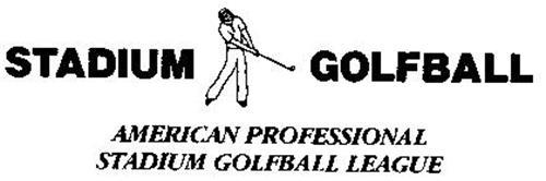 STADIUM GOLFBALL AMERICAN PROFESSIONAL STADIUM GOLFBALL LEAGUE