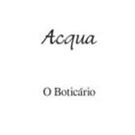 ACQUA O BOTICÁRIO