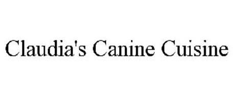 CLAUDIA'S CANINE CUISINE