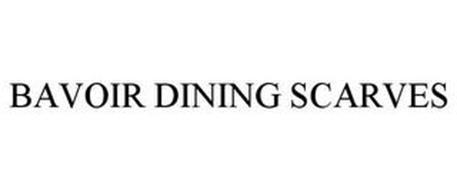 BAVOIR DINING SCARVES