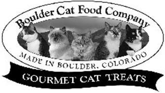BOULDER CAT FOOD COMPANY MADE IN BOULDER, COLORADO GOURMET CAT TREATS