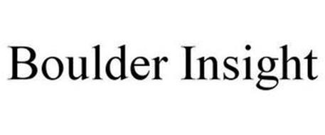 BOULDER INSIGHT