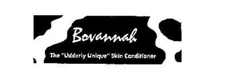 "BOVANNAH THE ""UDDERLY UNIQUE"" SKIN CONDITIONER"