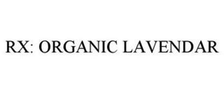 RX: ORGANIC LAVENDER
