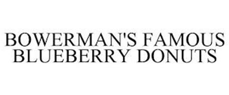 BOWERMAN'S FAMOUS BLUEBERRY DONUTS