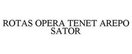 ROTAS OPERA TENET AREPO SATOR