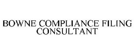 BOWNE COMPLIANCE FILING CONSULTANT