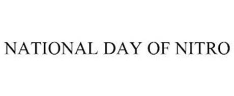 NATIONAL DAY OF NITRO