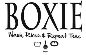 BOXIE WASH, RINSE & REPEAT TEES
