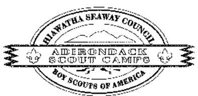 HIAWATHA SEAWAY COUNCIL ADIRONDACK SCOUT CAMPS BOY SCOUTS OF AMERICA
