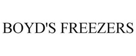 BOYD'S FREEZERS