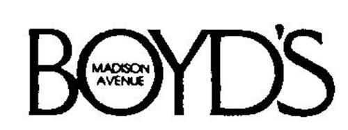 BOYD'S MADISON AVENUE