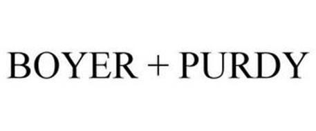 BOYER + PURDY