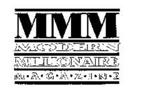 MMM MODERN MILLIONAIRE M-A-G-A-Z-I-N-E