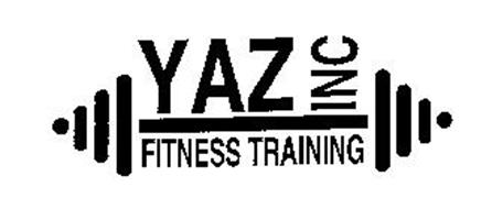 YAZ INC FITNESS TRAINING