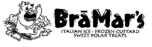 BRAMAR'S ITALIAN ICE FROZEN CUSTARD SWEET POLAR TREATS