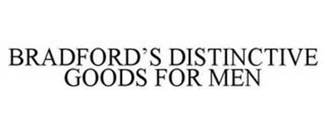 BRADFORD'S DISTINCTIVE GOODS FOR MEN