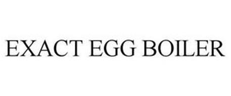 EXACT EGG BOILER