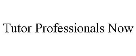 TUTOR PROFESSIONALS NOW