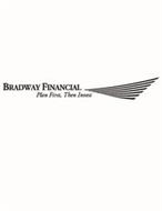 BRADWAY FINANCIAL PLAN FIRST, THEN INVEST