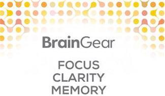 BRAINGEAR FOCUS CLARITY MEMORY
