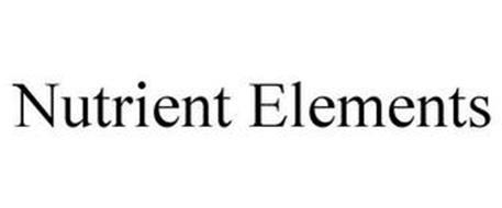 NUTRIENT ELEMENTS