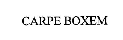 CARPE BOXEM