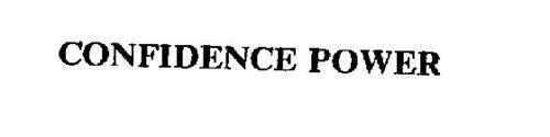 CONFIDENCE POWER