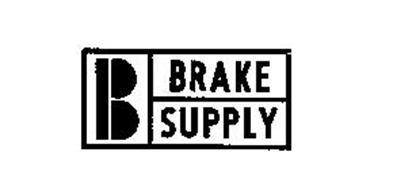 B BRAKE SUPPLY