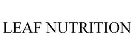 LEAF NUTRITION