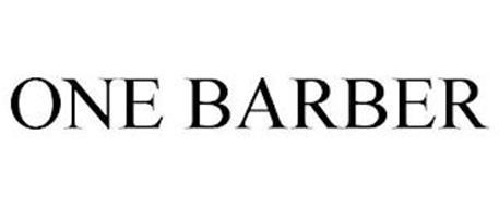 ONE BARBER