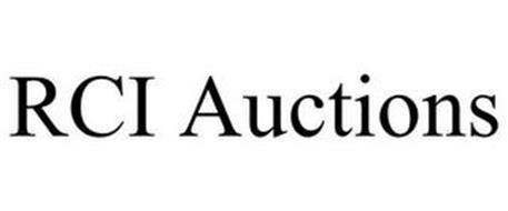 RCI AUCTIONS
