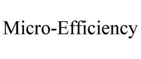 MICRO-EFFICIENCY