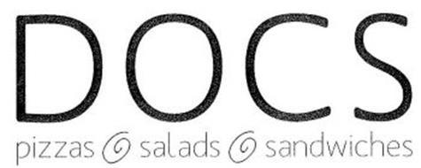 DOCS PIZZAS SALADS SANDWICHES