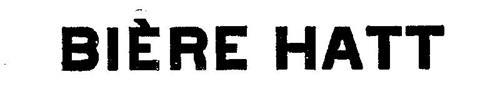 BIERE HATT