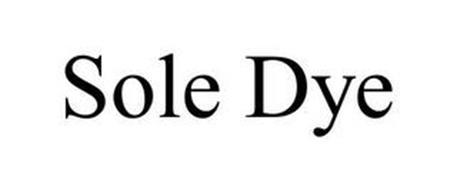SOLE DYE
