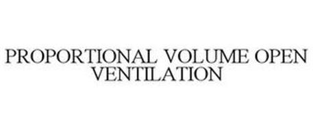 PROPORTIONAL VOLUME OPEN VENTILATION