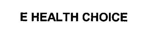 E HEALTH CHOICE