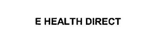 E HEALTH DIRECT