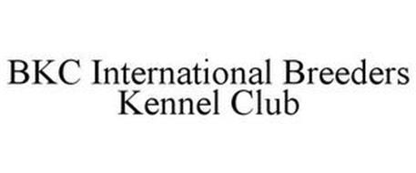 BKC INTERNATIONAL BREEDERS KENNEL CLUB