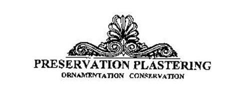 PRESERVATION PLASTERING ORNAMENTATION CONSERVATION