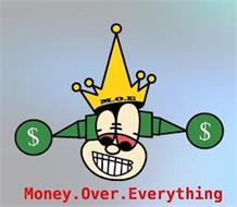 MONEY. OVER. EVERYTHING