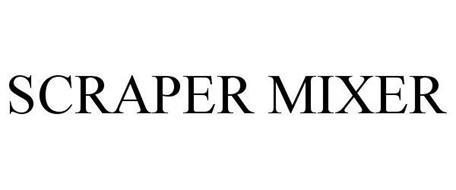 SCRAPER MIXER