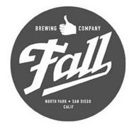 BREWING COMPANY FALL NORTH PARK · SAN DIEGO CALIF