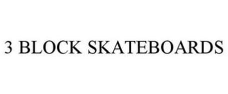 3 BLOCK SKATEBOARDS
