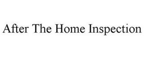 AFTER THE HOME INSPECTION