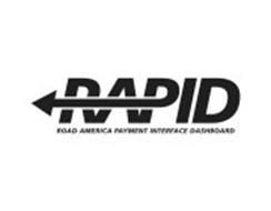 Rapid road america payment interface dashboard trademark for Road america motor club