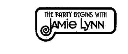 THE PARTY BEGINS WITH JAMIE LYNN