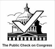 THE PUBLIC CHECK ON CONGRESS
