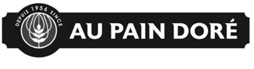DEPUIS 1956 SINCE AU PAIN DORÉ
